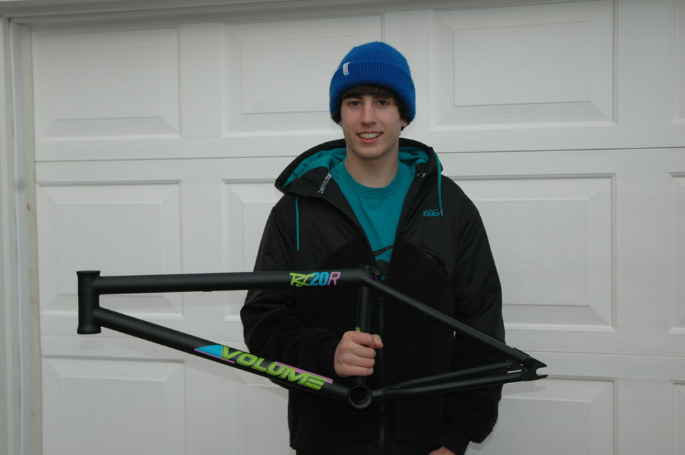 Twitter contest winner, Billy Perry