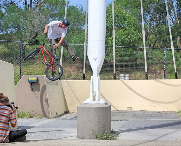 Boyd: wallride, double peg to whip out
