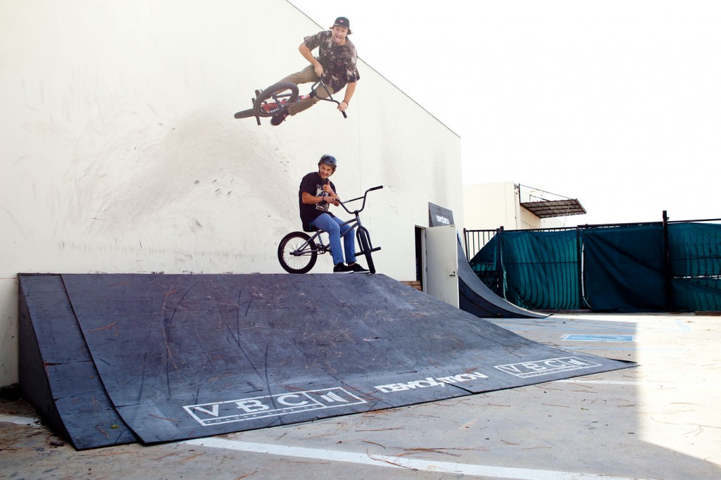Broc Check: Wallride over Josh Clemans