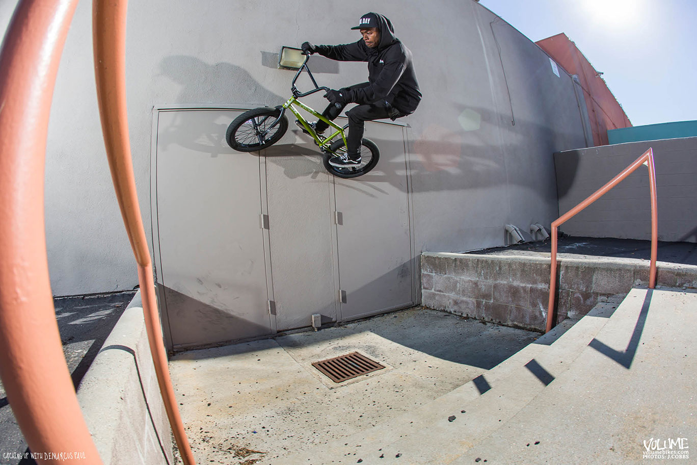 CATCHING UP WITH DEMARCUS PUAL: Wallride gap