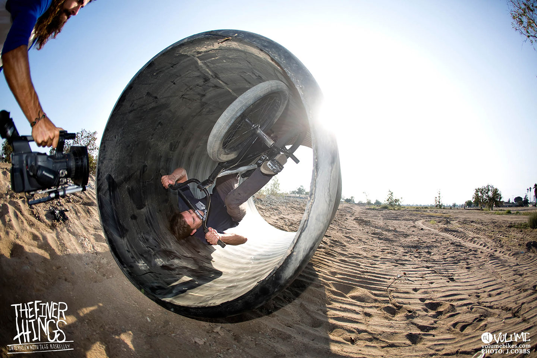 Barrel roll...