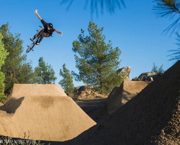 Getting Dirty With Broc: 360 no hander