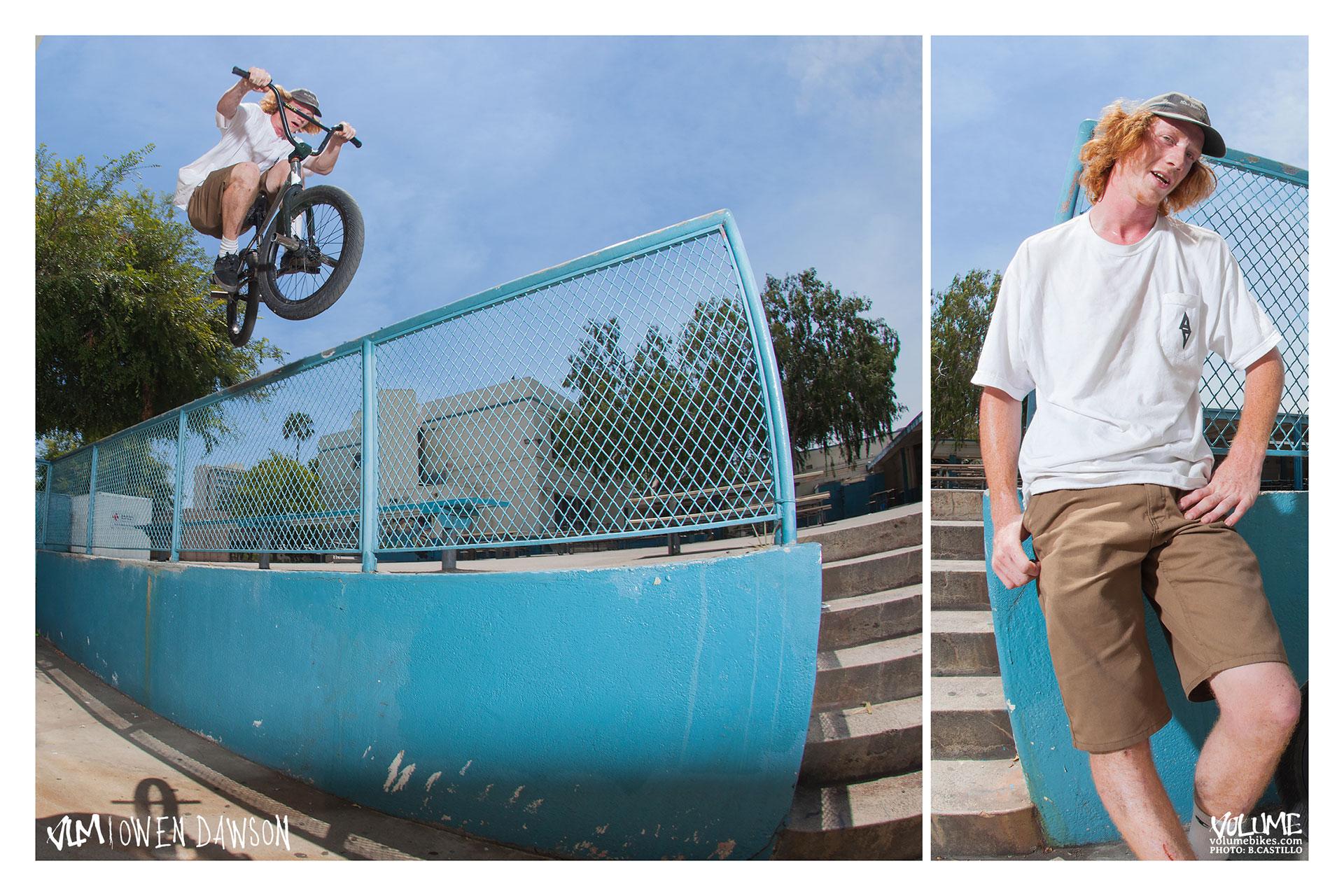 Owen Dawson: Double peg to hop over