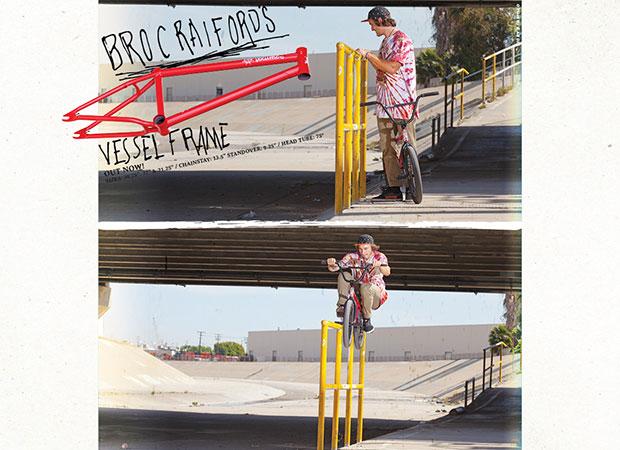 Broc X Vessel new RIDEbmx ad