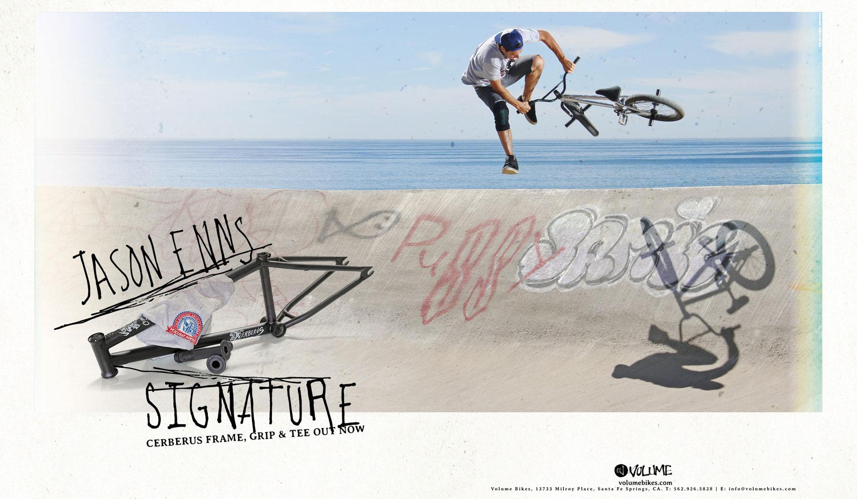 Enns' signature parts ad