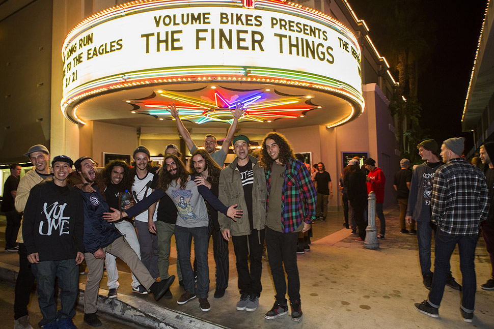 Volume The Finer Things Premiere